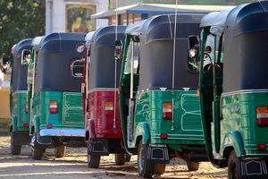 Tuktuk, Anuradhapura - Sri Lanka