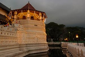temple of the tooth in Kandy - Kandy - Sri Lanka