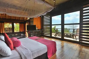 slaapkamer van Acres Resort in Ella - Acres Resort - Sri Lanka