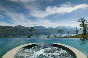 zwembad van Ceylon Tea Trails in Hatton - Ceylon Tea Trails - Sri Lanka