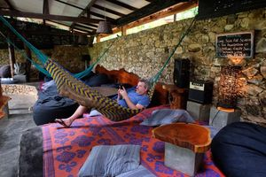 lounge van Borderlands in Kitulgala - Borderlands - Sri Lanka