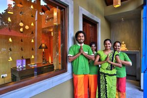 staff van Chandrika Hotel in Tissamaharama - Chandrika Hotel - Sri Lanka - foto: Chandrika Hotel