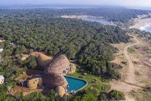 luchtfoto van Wild Coast Yala (1) - Wild Coast - Sri Lanka
