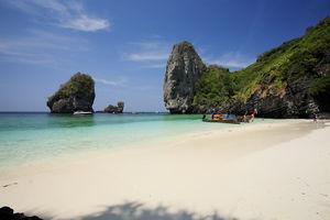 strand van Koh Phi Phi - Thailand