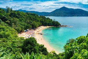 strand van Phuket - Thailand