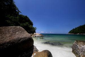 Strand - zee - Pangkor Laut Island - Maleisië - foto: flickr