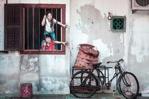 Street Art - George Town - Penang - Maleisië - foto: unsplash