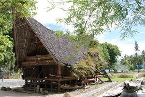 Sumatra - Lake Toba - Samosir museum - Indonesie - foto: lokale agent
