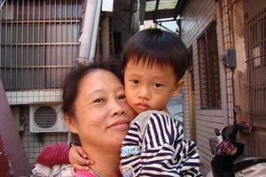 vrouw met kind - Taiwan