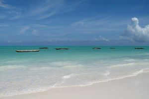 strand Paje beach - Zanzibar - Tanzania