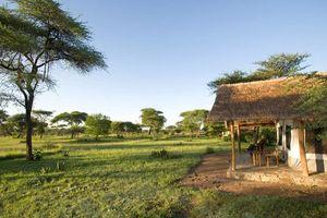 tent buitenkant - Ikoma Bush Camp - Serengeti - Tanzania