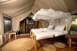 bed - Migunga Tented Camp - Lake Manyara - Tanzania