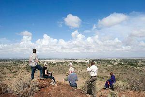 Landzicht vanuit Kambi ya Tembo - Kambi ya Tembo - Tanzania