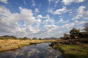 Uitzicht op de Ruaha Rivier - Ruaha Rivier Lodge - Tanzania