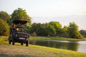 Game Drive - Rufiji River Camp - Tanzania
