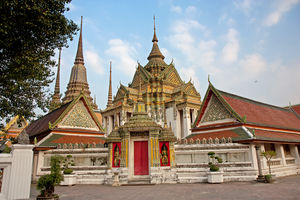 tempel in Wat Pho - Thailand