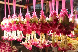 bloemen markt - Chiang Mai - Thailand