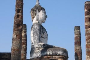 boeddha sukhothai - Sukhothai - Thailand
