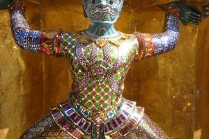 detail Grand Palace - Bangkok - Thailand