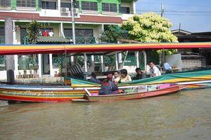 longtail boat klong tour