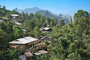 landelijke omgeving bij Pai - Noord-Thailand - Thailand