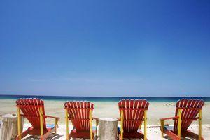 Strand ligbed - Thailand