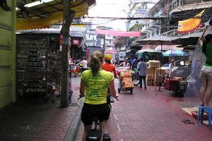 Fietsen Chinatown - Bangkok - Thailand