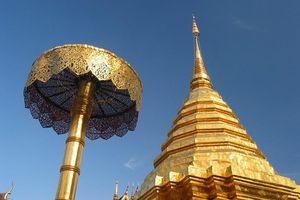Doi Suthep goud - Chiang Mai - Thailand