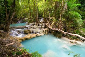 Erawan waterval - kanchanaburi - Thailand