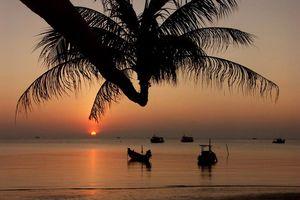 Zonsondergang op het strand van Koh Samui - Koh Samui - Thailand