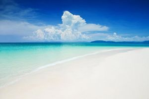 Wit strand Krabi