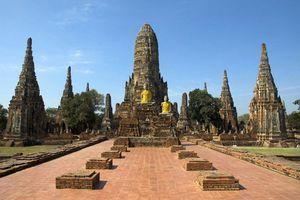 thailand ayutthaya wat chai wattanaram - ayutthaya - Thailand