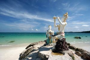 Sai Kaew, Buddhistische zeemeerminnen, Mu Koh Samet - Thailand