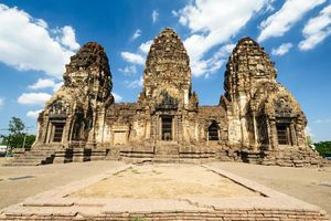 Pagoda, Phra Prang Sam Yot, Lopburi - Thailand