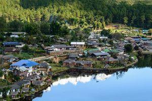 Ban Rak Thai dorp, Mae Hong Son, Pai