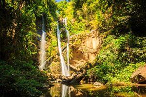 Mork fah waterval, Chiangmai - Thailand