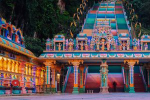 Trap bij de Batu Caves - Kuala Lumpur - Maleisië - foto: unsplash