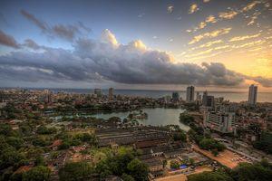 Uitzicht over Colombo - Sri Lanka - foto: flickr