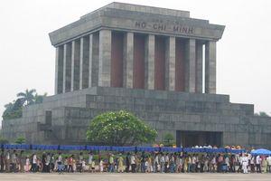 Ho Chi Minh Mausoleum - Hanoi - Vietnam