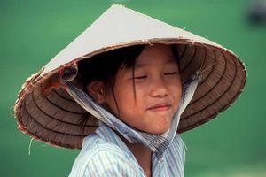 meisje met hoed - Vietnam