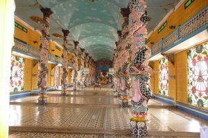 Cao Dai Tempel Tay Ninh