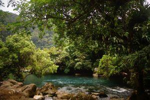 rivier in Phong Nha