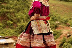 Hilltribe vrouw - Sapa - Vietnam