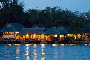 bar van het Whale Island Resort