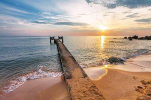 Steiger in de zee, Phu Quoc
