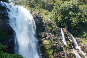 waterval in Doi Inthanon National Park - Thailand