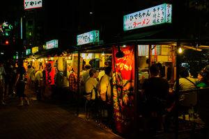 yatai streetfood eetstalletjes - Fukuoka - Japan - foto: flickr