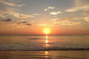 zonsondergang van Khao Lak - Thailand