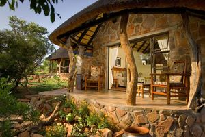 chalet outside - Iketla Lodge - Ohrigstad - Zuid-Afrika