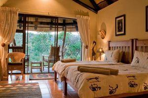 chalet inside - Iketla Lodge - Ohrigstad - Zuid-Afrika